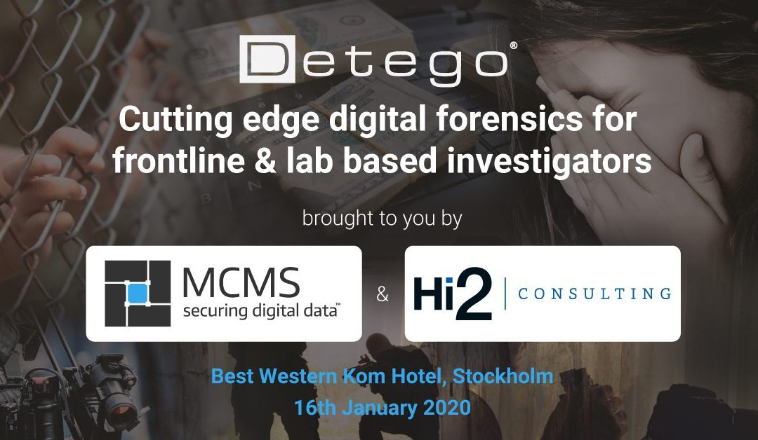Cutting edge Digital Forensics for frontline and lab-based investigators