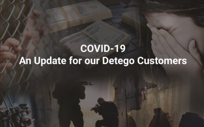 COVID19 – An Update for our Detego Customers