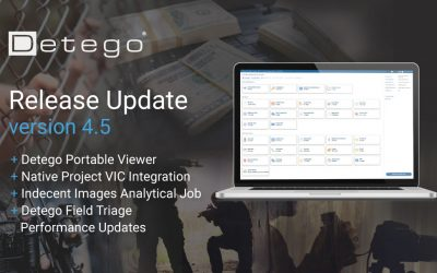 Detego v4.5: Download our Latest Release Today