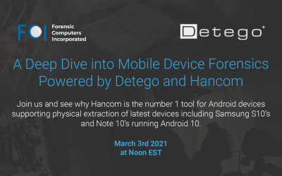 A Deep Dive Into Mobile Device Forensics