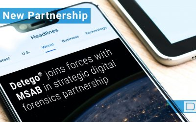 Detego joins forces with MSAB in strategic partnership